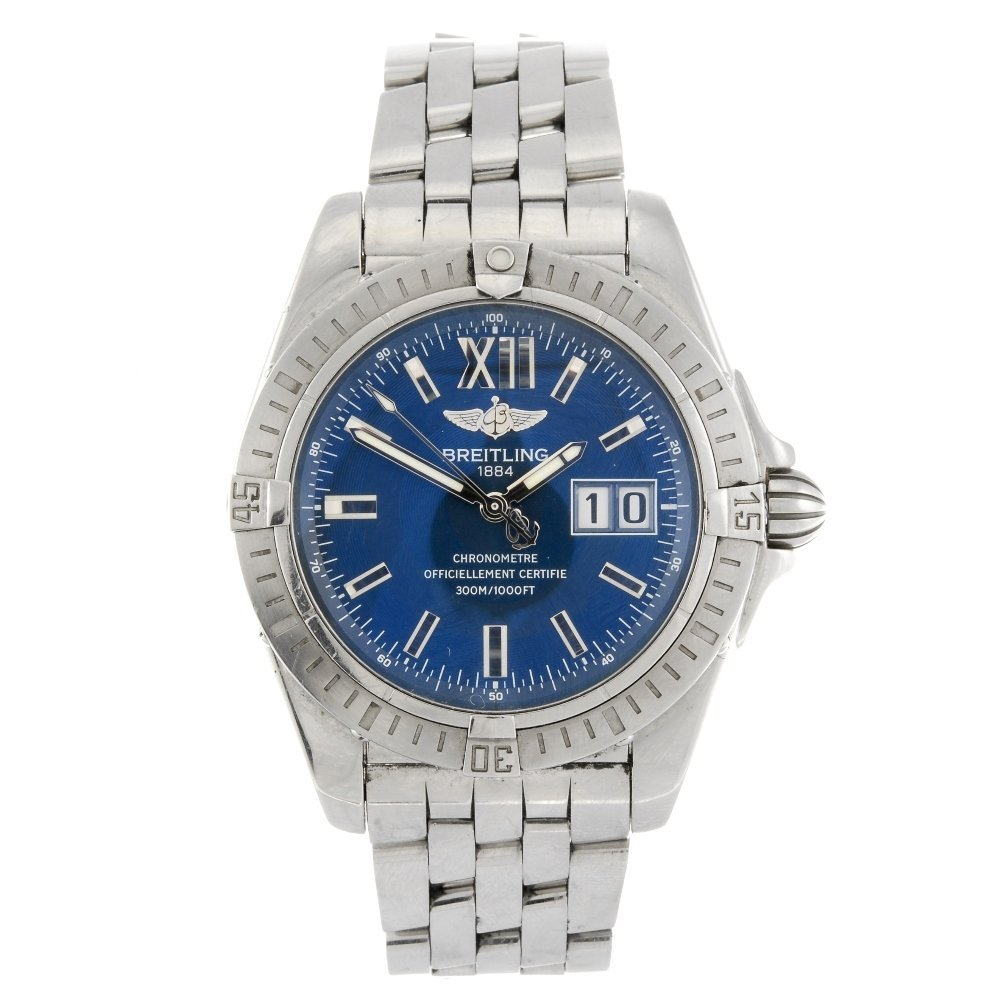(00001044/2) A stainless steel automatic gentleman's Br