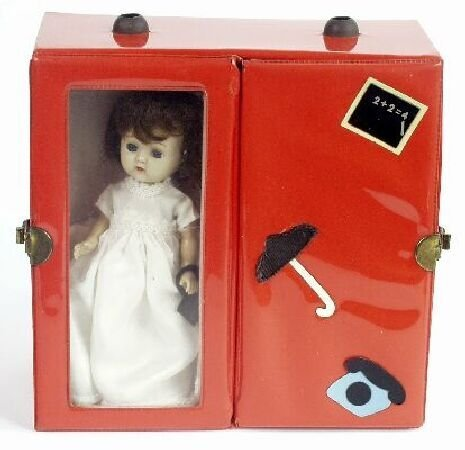 "2006: A late 1950s Ideal plastic ""Ginger"" dol"