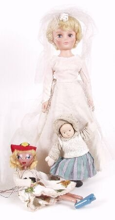 2009: A Pedigree doll modelled as a Bride, he