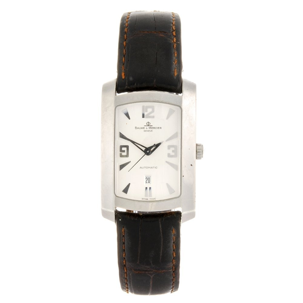 (102672) A stainless steel automatic gentleman's Baume