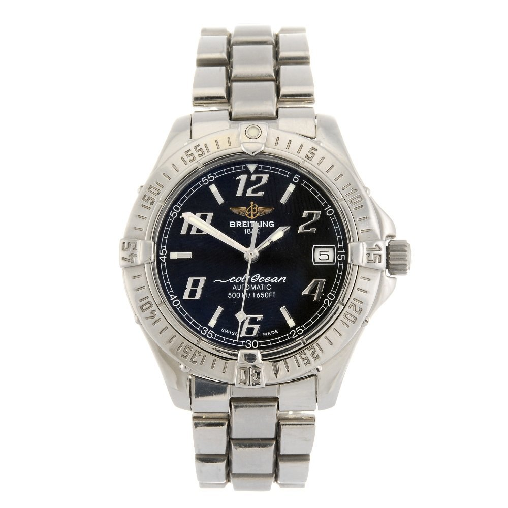 (1102020397) A stainless steel automatic gentleman's Br