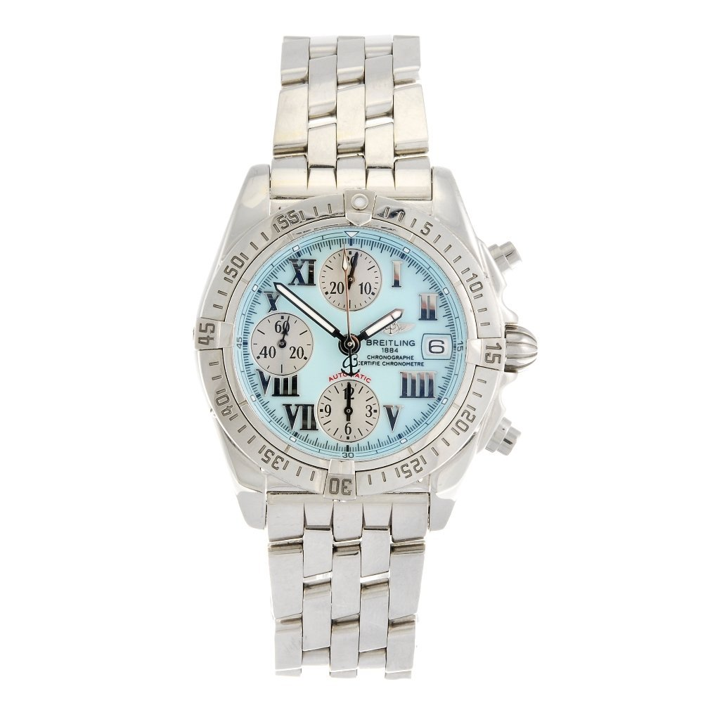 (960000682) A stainless steel automatic chronograph gen