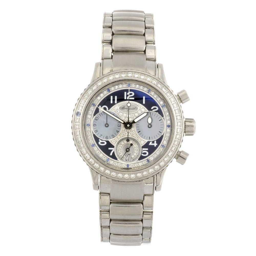 (103793) A stainless steel automatic lady's Breguet Typ