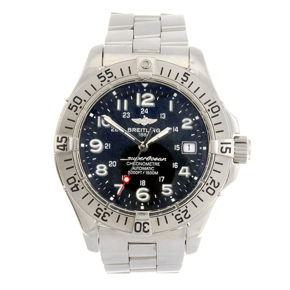 (205156345) A stainless steel automatic gentleman's Bre