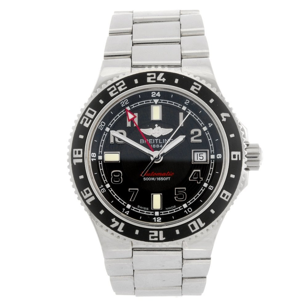 (045839) A stainless steel automatic gentleman's Breitl