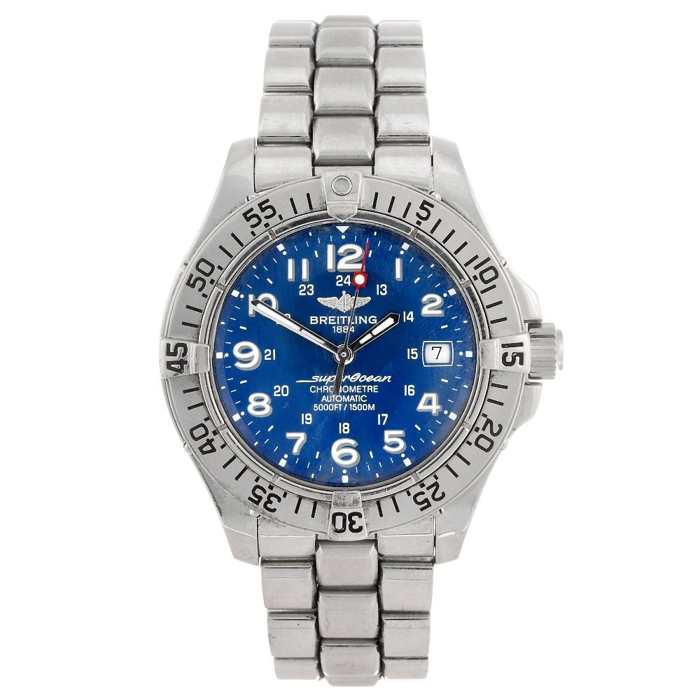 (067631) A stainless steel automatic gentleman's Breitl