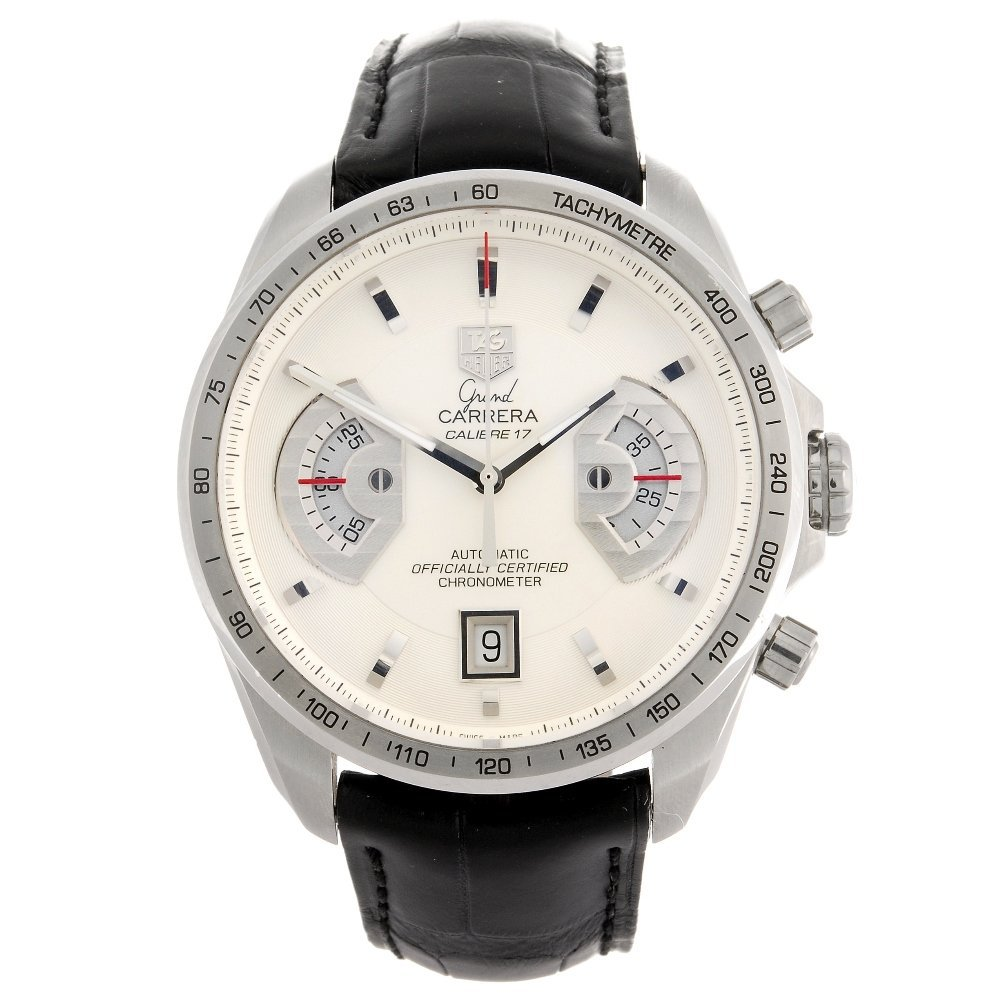 (064745) A stainless steel automatic gentleman's Tag He