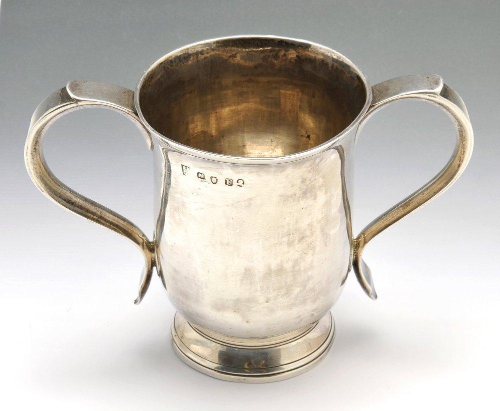 A George III Bateman loving cup.
