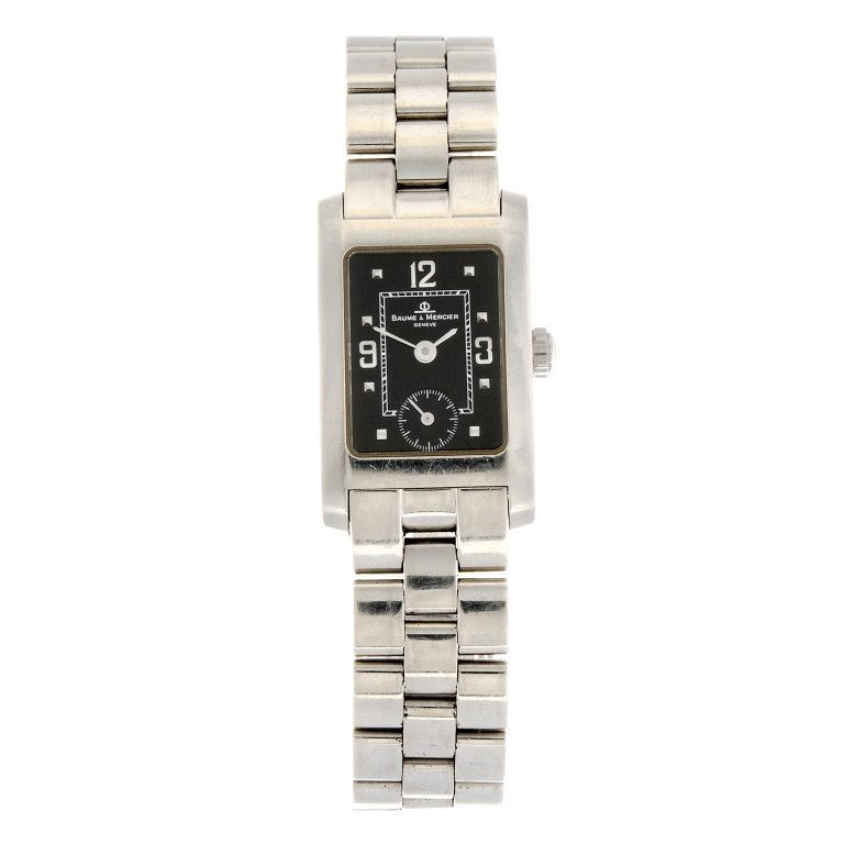 (116193750) A stainless steel quartz lady's Baume &