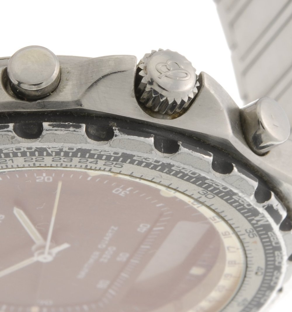 (50984) A stainless steel quartz gentleman's Breitling - 3