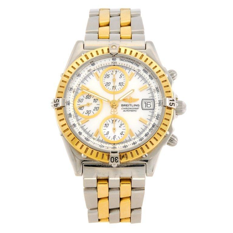 (927000938) A bi-metal automatic chronograph