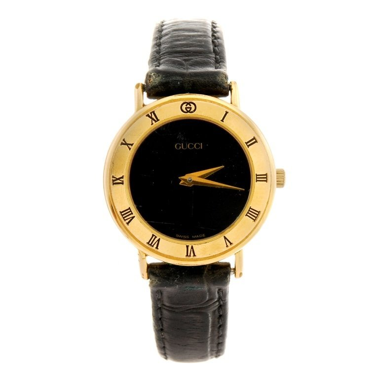 gucci 9200l. a gold plated quartz lady\u0027s gucci 3000.2 l wrist watch. 9200l w