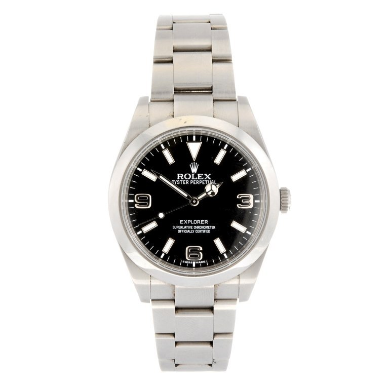 (118856) A stainless steel automatic gentleman's Rolex