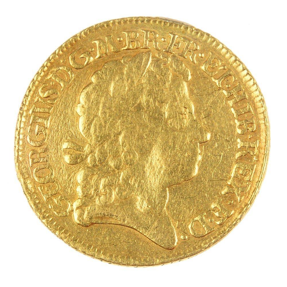 George I, Guinea 1719.