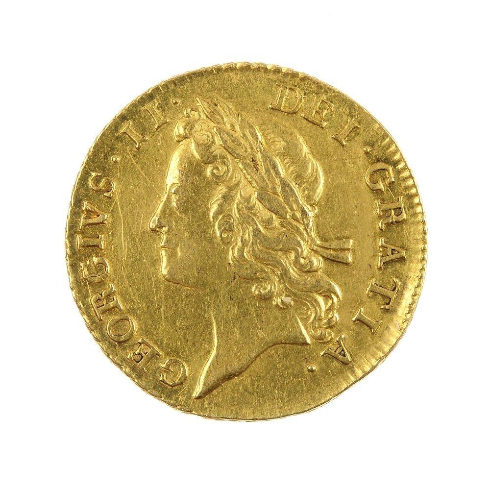 George II Guinea 1733.