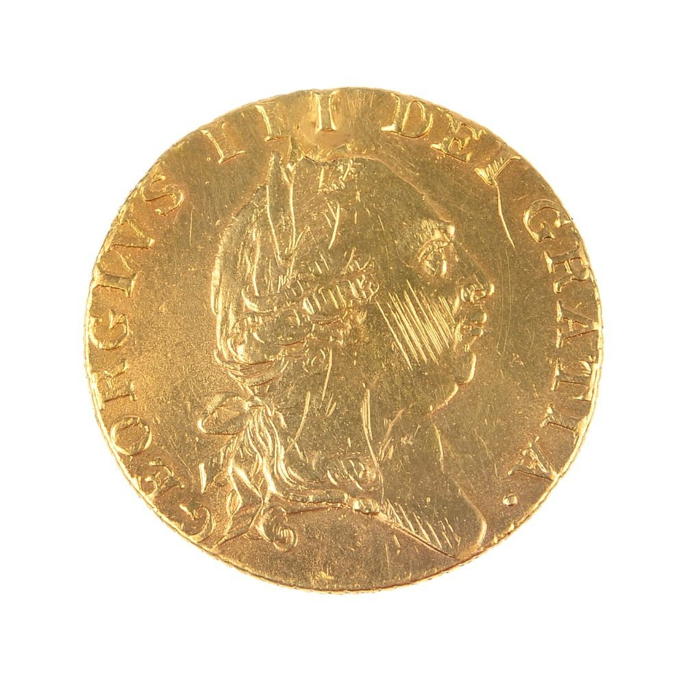 George III, Guinea 1788.
