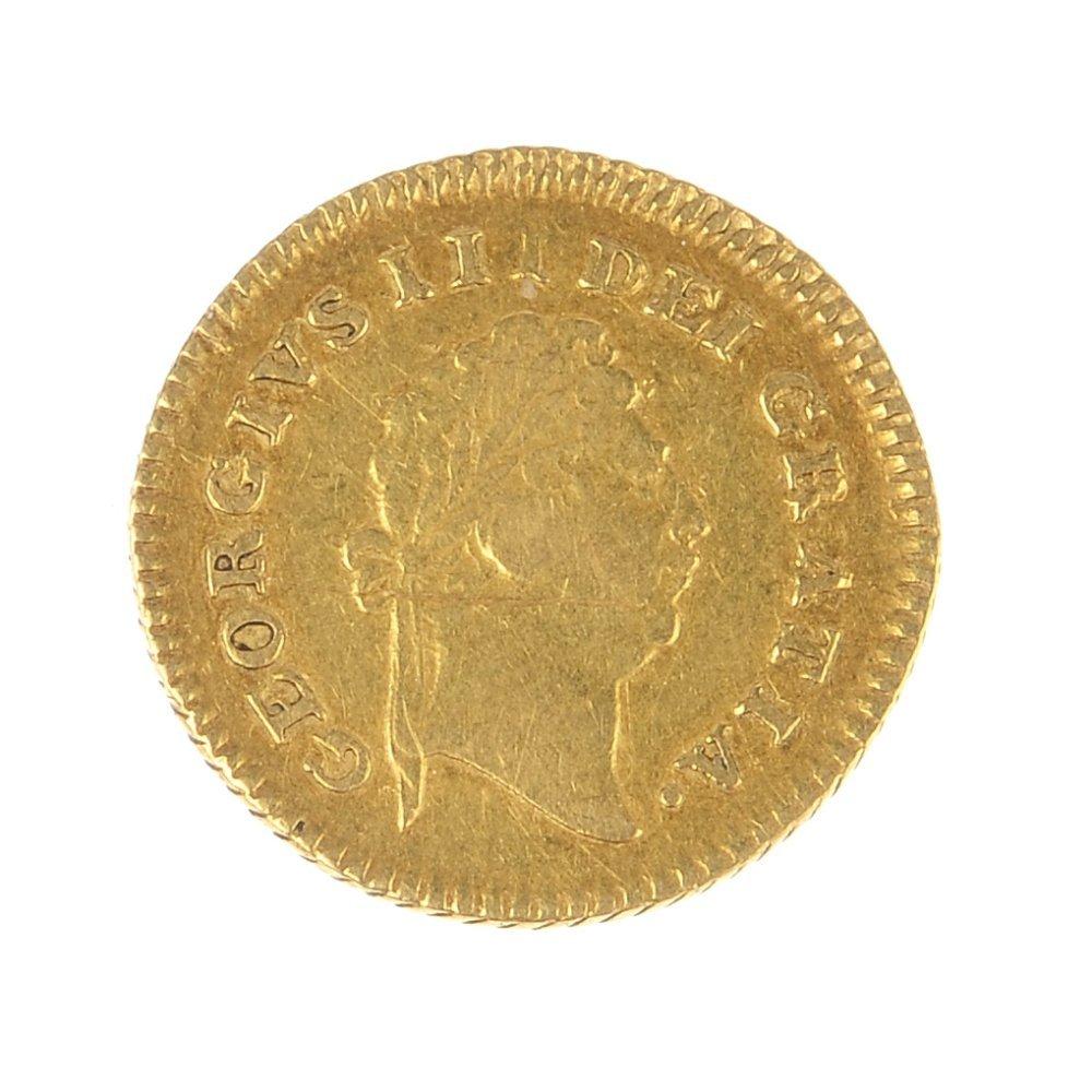 George III, Third-Guinea 1798.