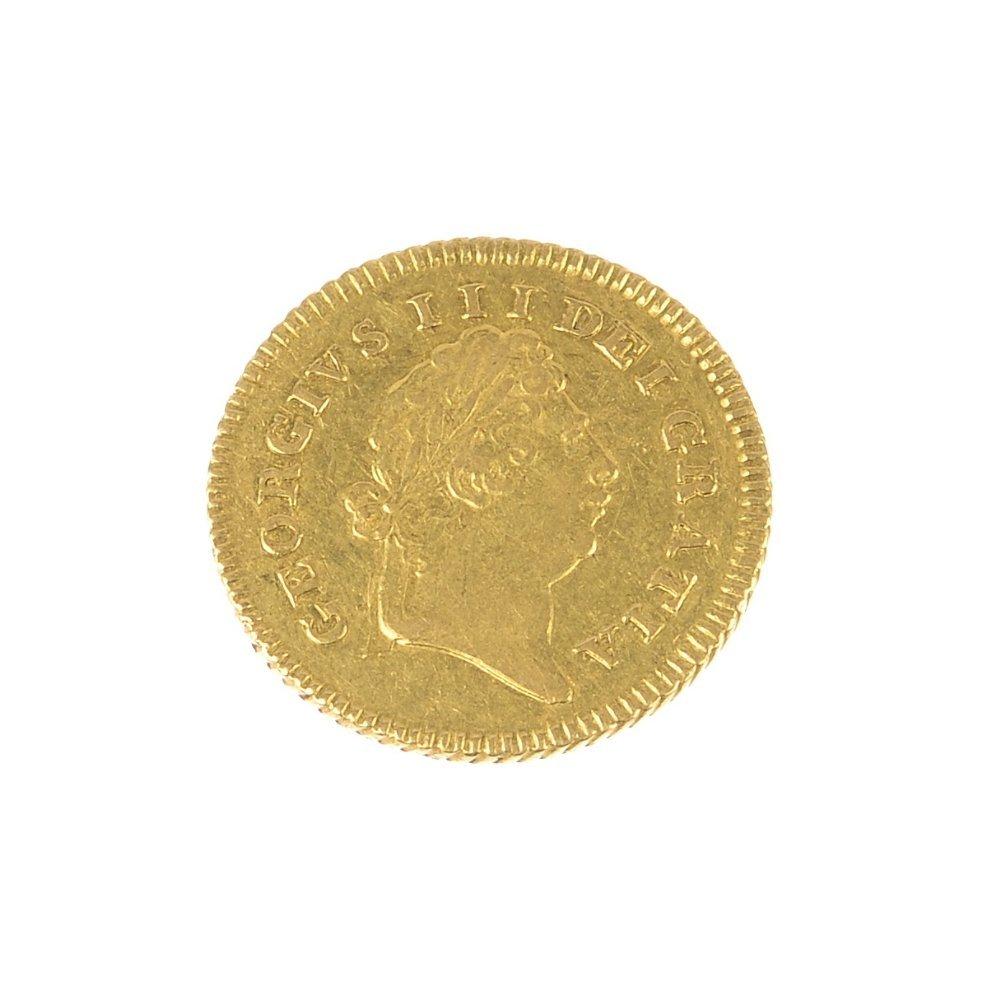 George III, Third-Guinea 1803.