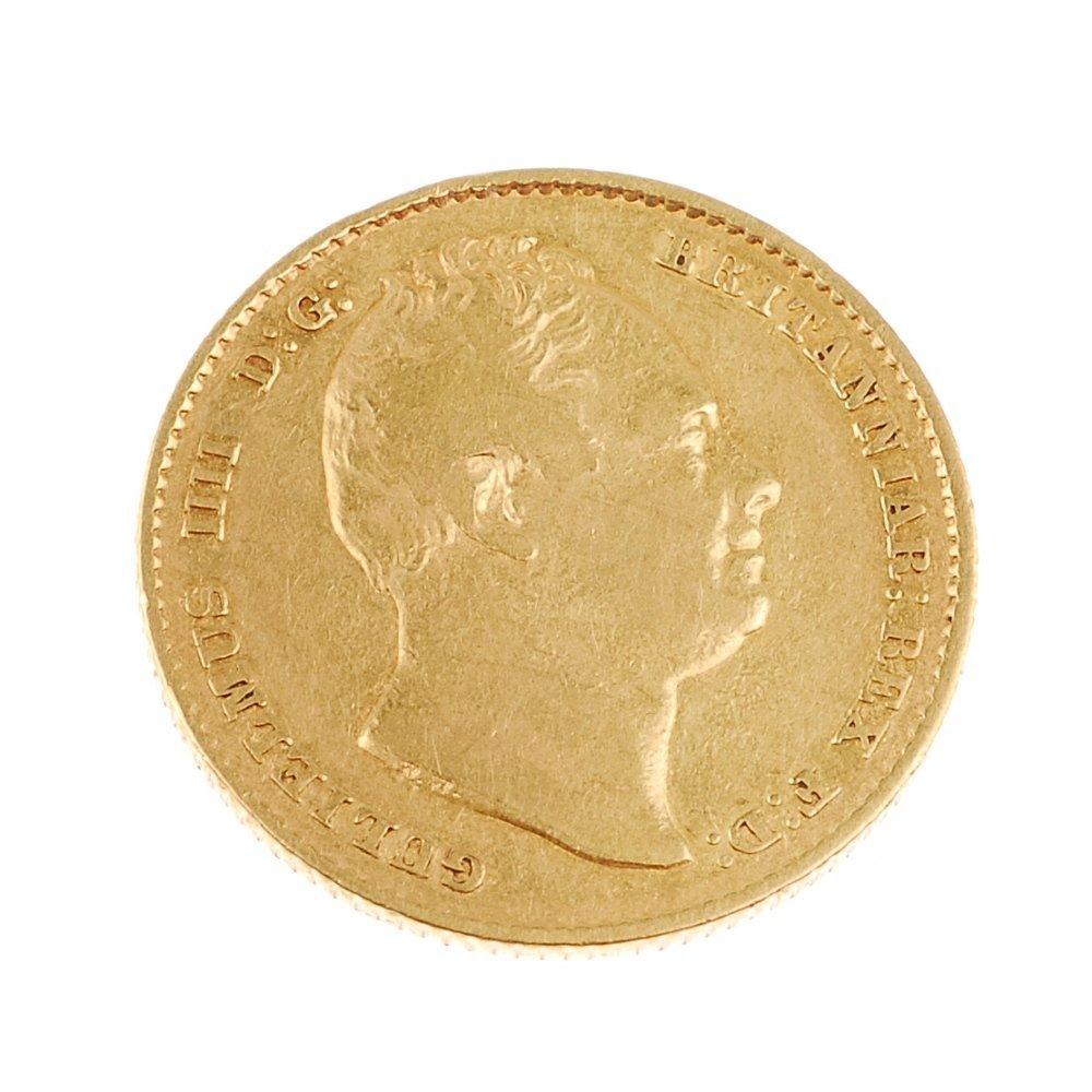 William IV, Sovereign 1833.