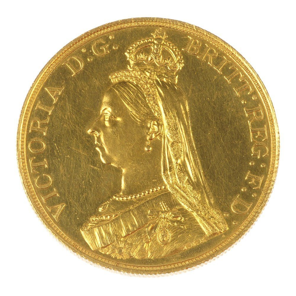 Victoria, Five-Pounds 1887.