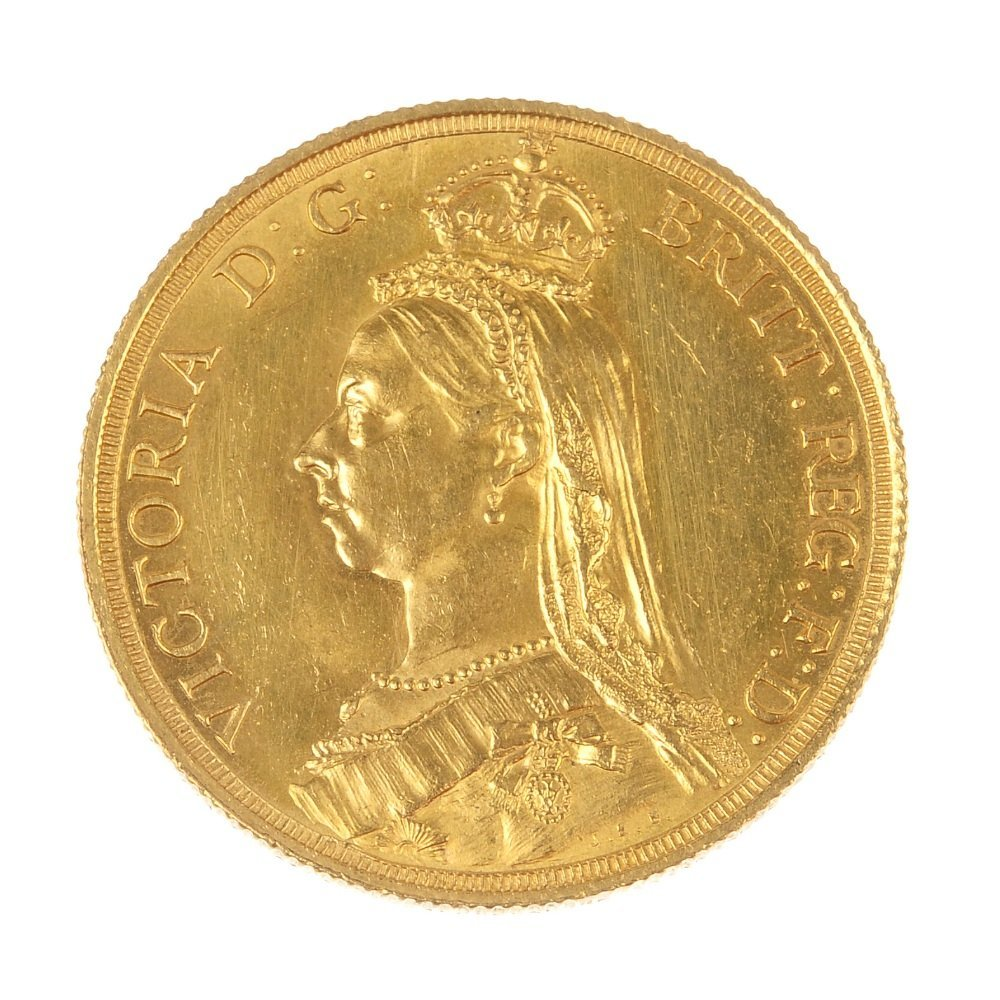 Victoria, Two-Pounds 1887.