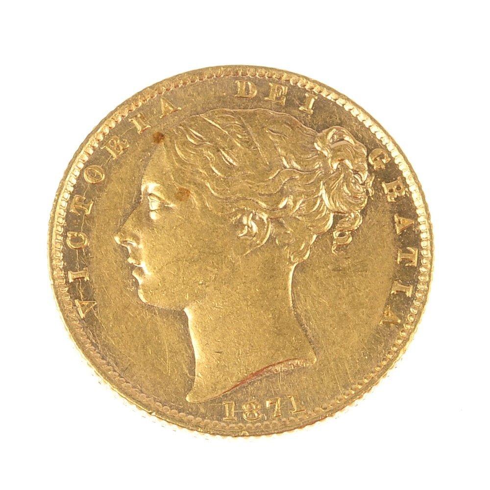 Victoria, Sovereign 1871.