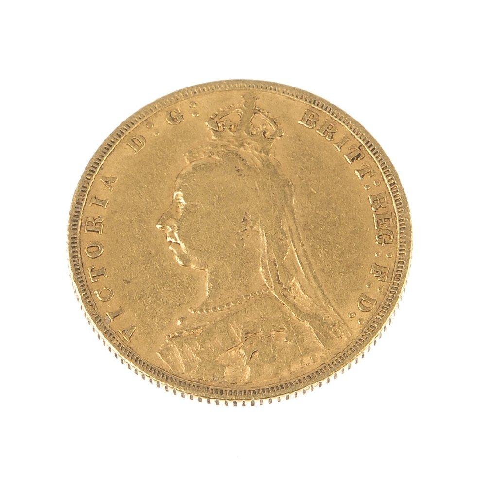 Victoria, Sovereign 1892.