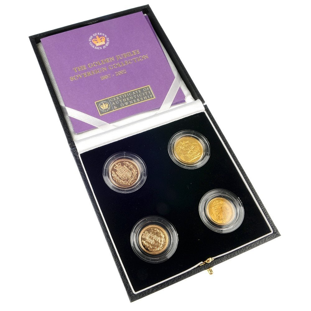 The Golden Jubilee Sovereign Collection 1887-2002.