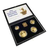 Elizabeth II gold proof Britannia set 1996