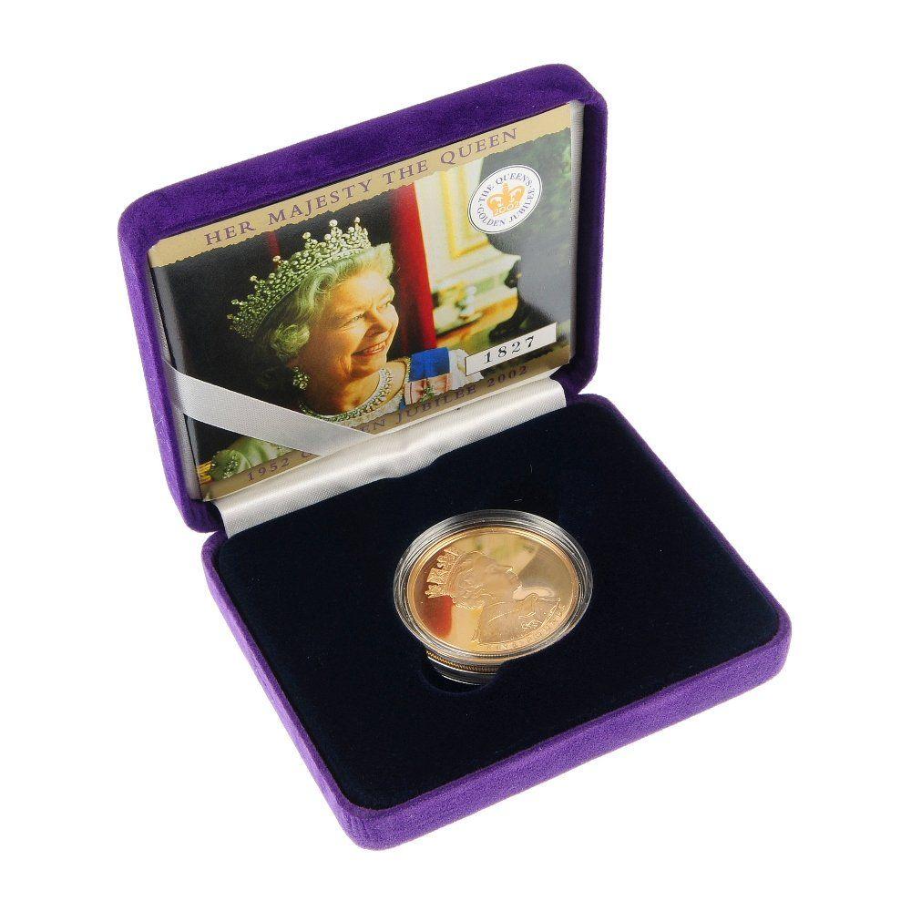 Elizabeth II, 1952 Golden Jubilee Gold Proof Five-Pound