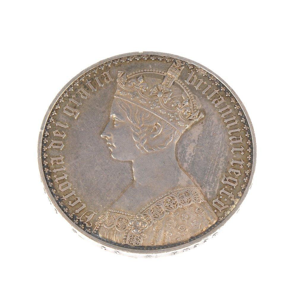Victoria, Gothic Crown 1847.