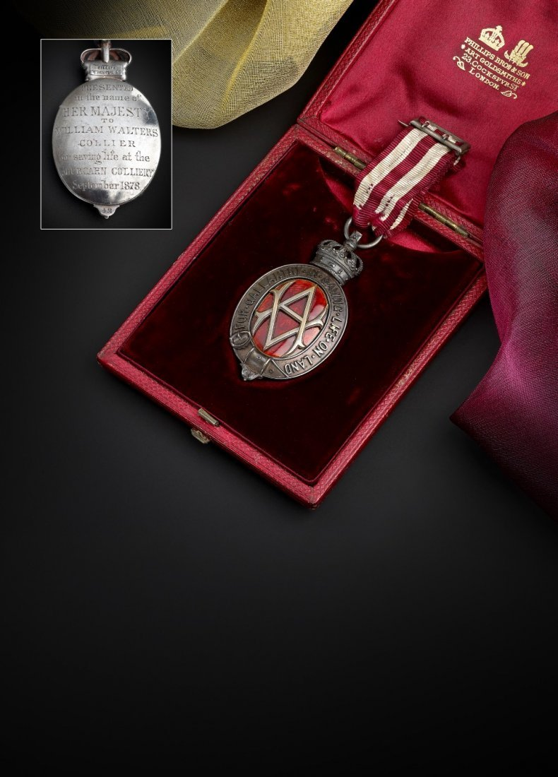 Albert Medal, 2nd Class for Gallantry in Saving Life on