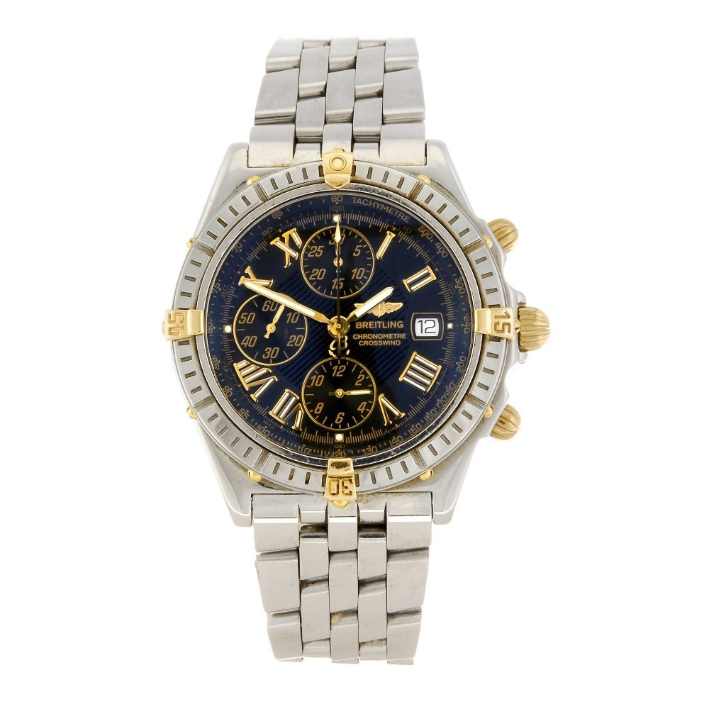 (87132) A stainless steel automatic chronograph gentlem