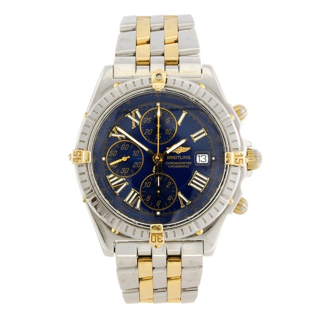 (121495) A bi-metal automatic chronograph gentleman's B