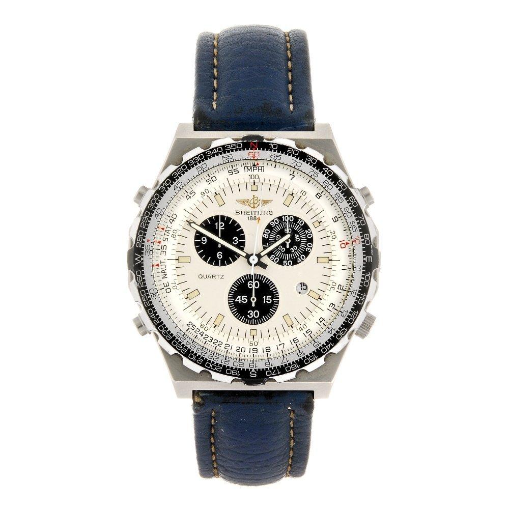 (914005391) A stainless steel quartz chronograph gentle