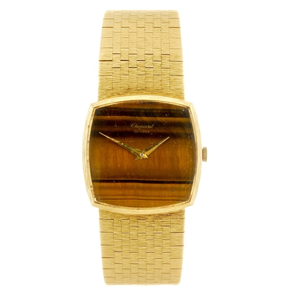 (134179245) An 18ct gold automatic gentleman's Chopard