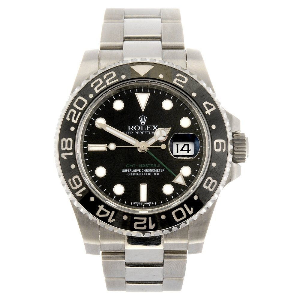 A stainless steel automatic gentleman's Rolex