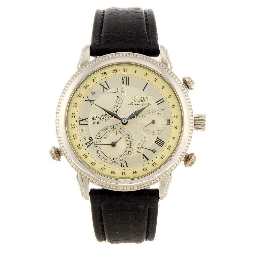 A quartz gentleman's Citizen Minute Repeater wrist