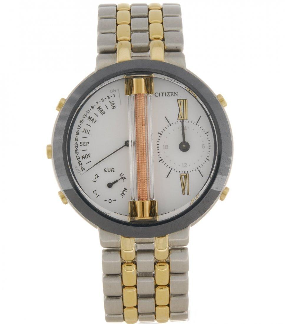 A quartz gentleman's Citizen Minute Repeater wrist - 5