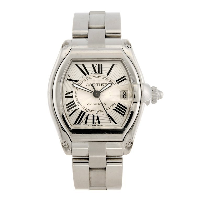 (994001219) A stainless steel automatic Cartier