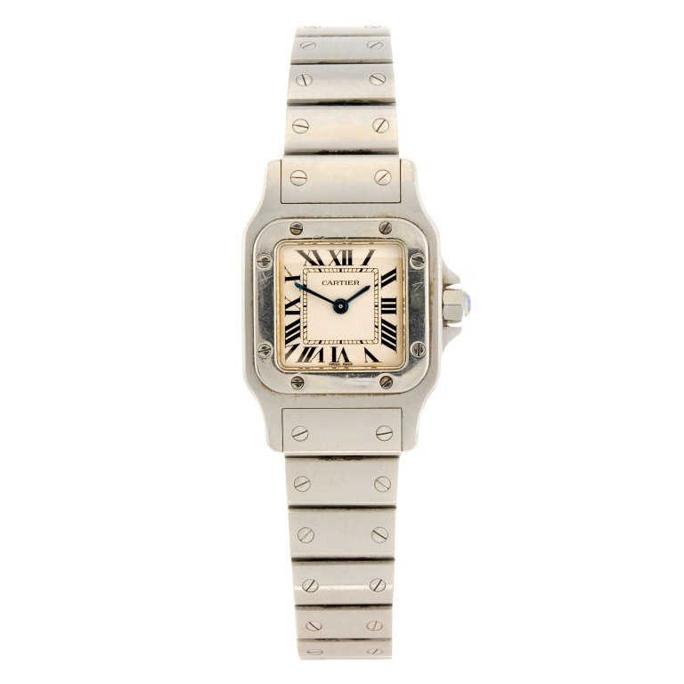 (994001846) A stainless steel quartz lady's Cartier
