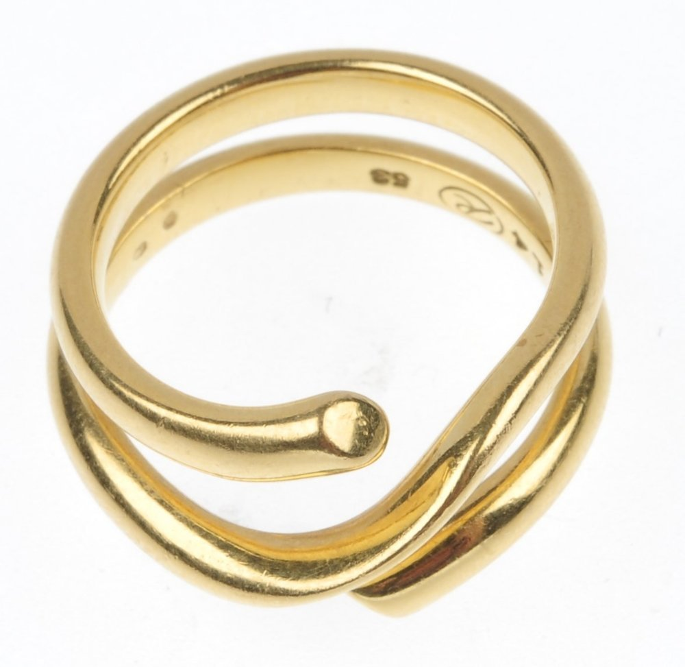 GEORG JENSEN - a 'Magic' ring. - 2