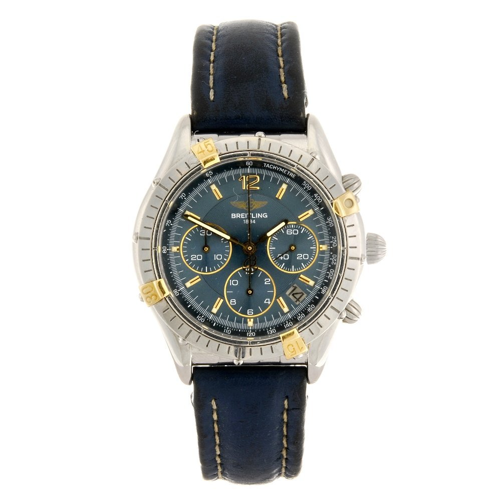 (1061024913) A bi-metal automatic mid-size Breitling Co