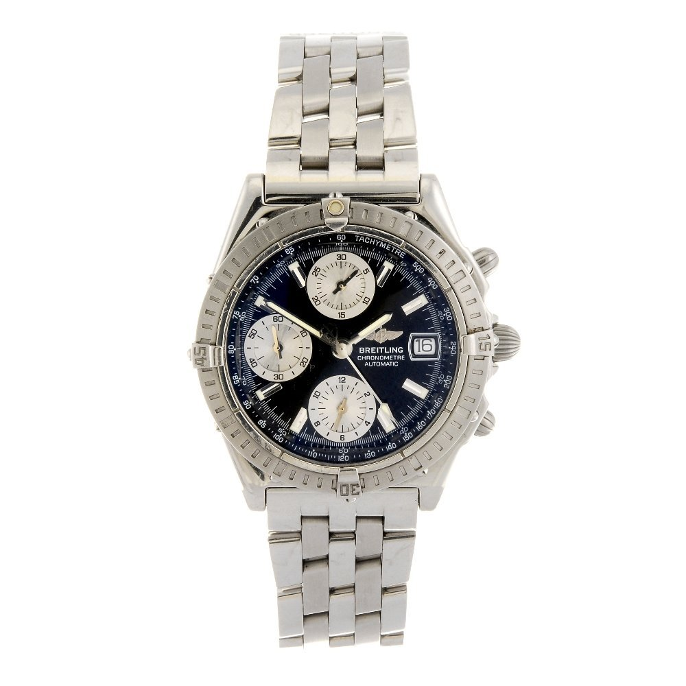 (116194261) A stainless steel automatic chronograph gen