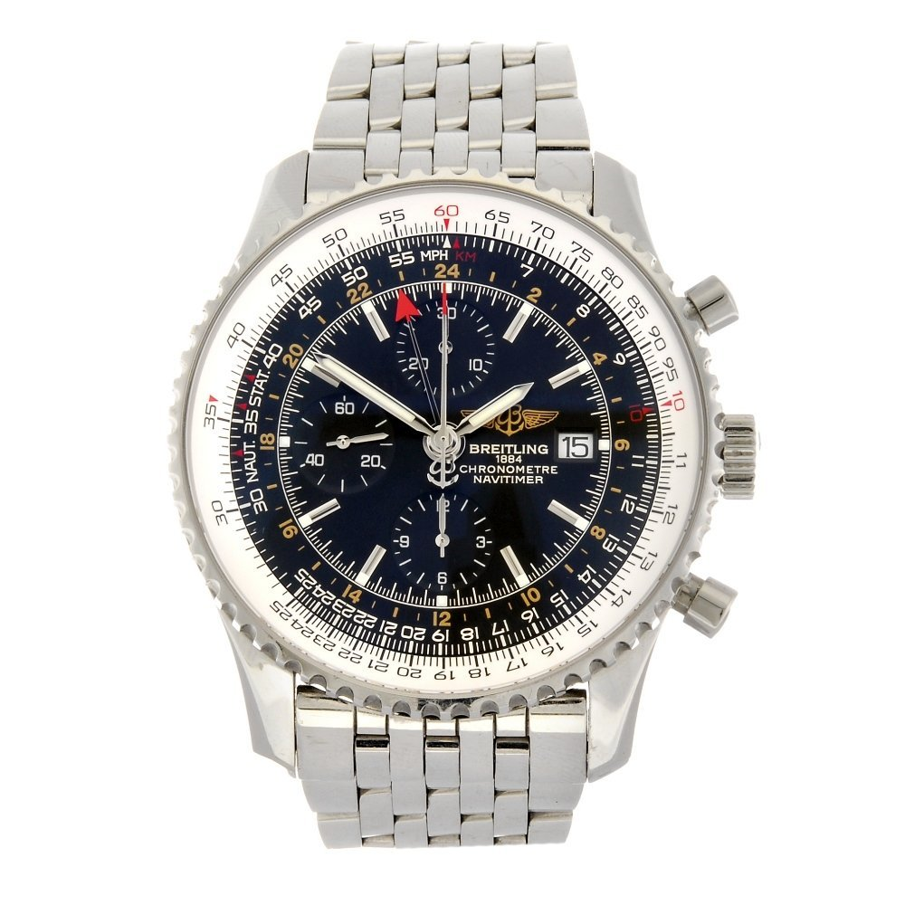 (704010581) A stainless steel automatic chronograph gen