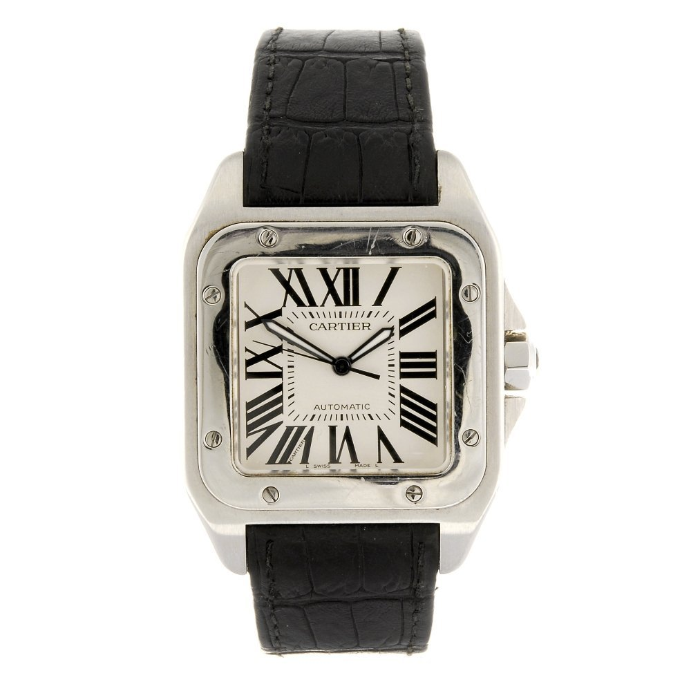 (1061022408) A stainless steel automatic gentleman's Ca