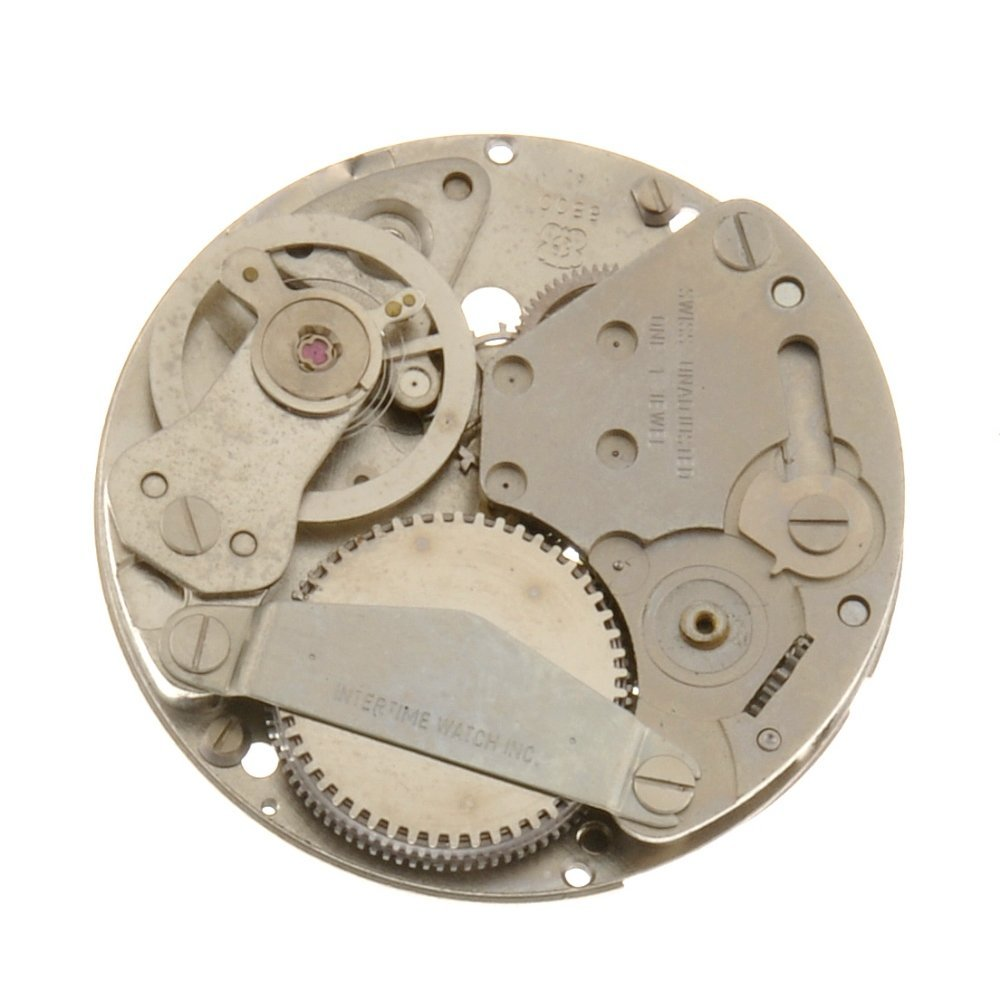 A group of approximately 50 watch movements.
