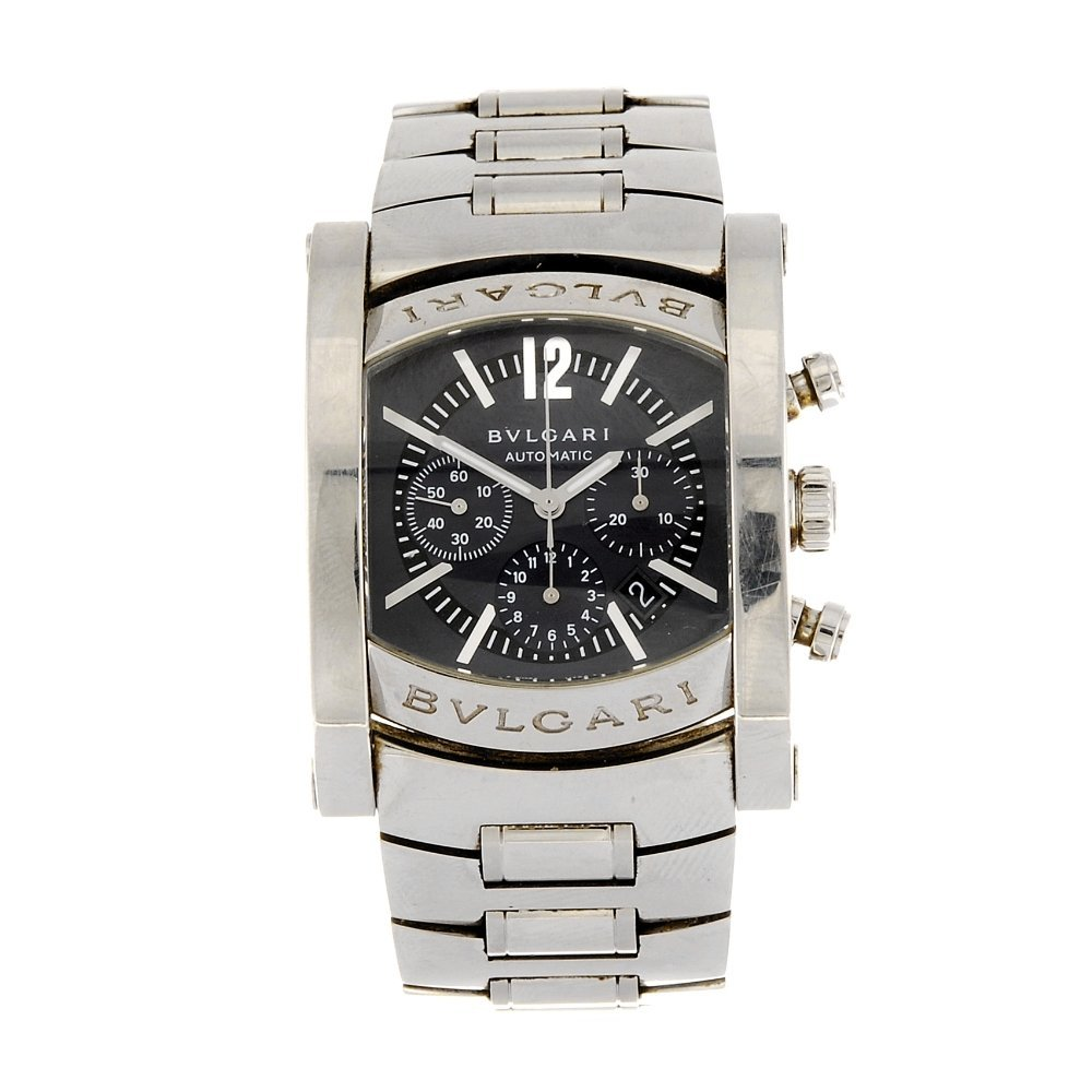 (984001055) A stainless steel automatic gentleman's