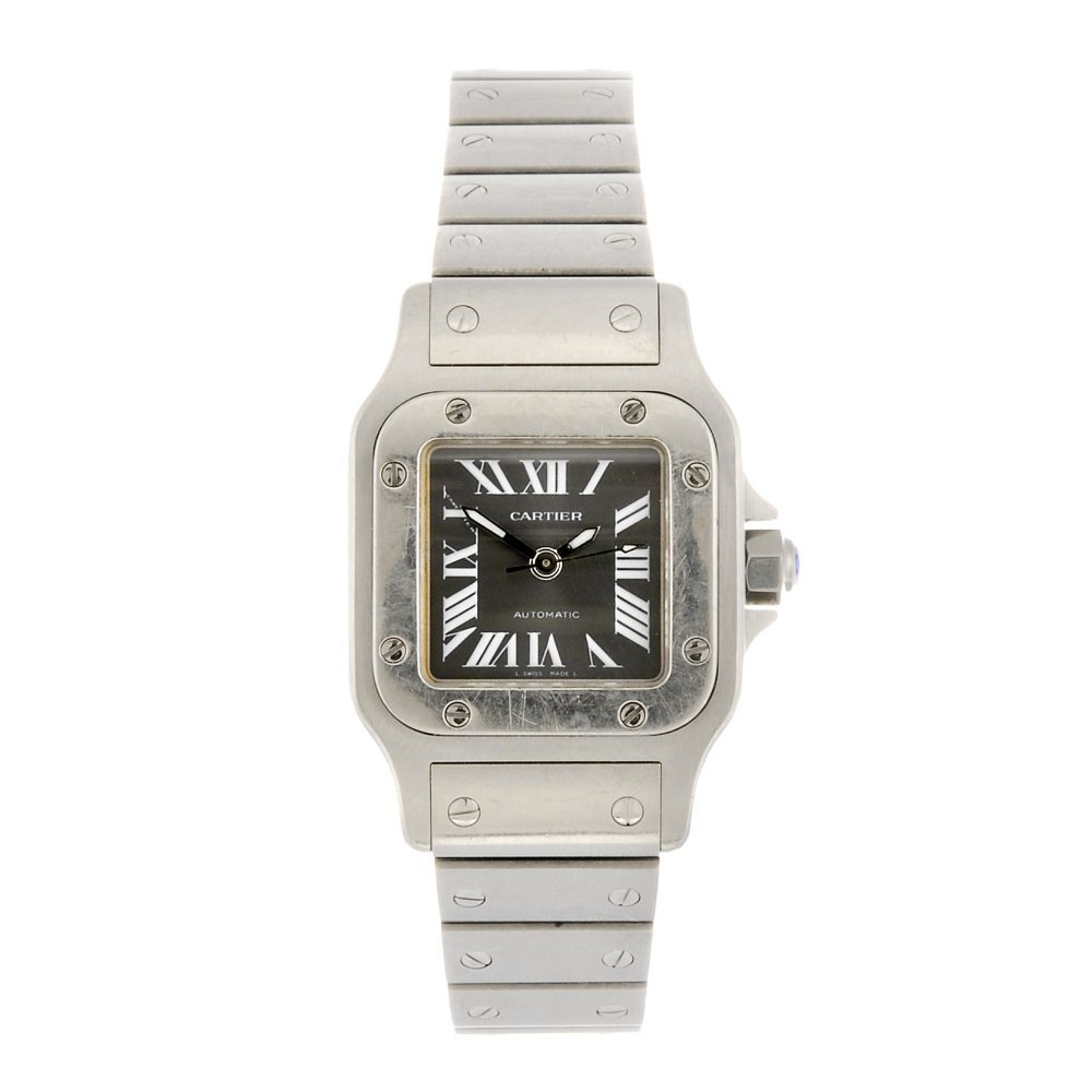 (966000215) A stainless steel automatic lady's Cartier
