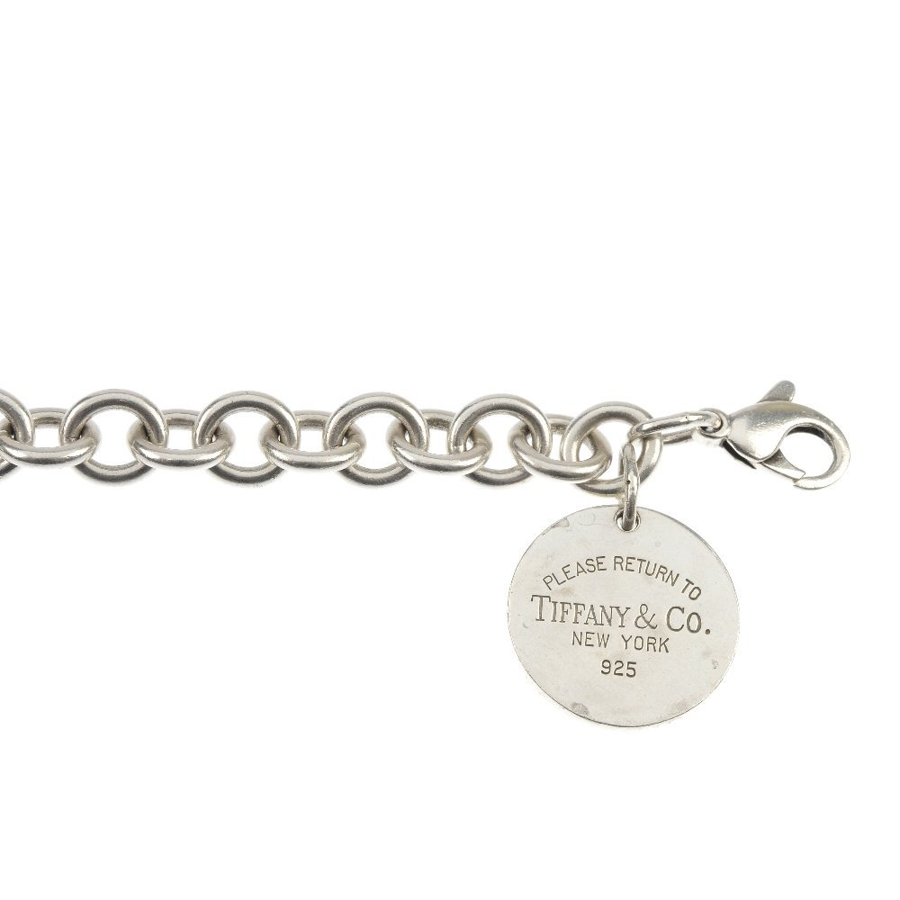 TIFFANY & CO. - a 'Return to Tiffany' bracelet.